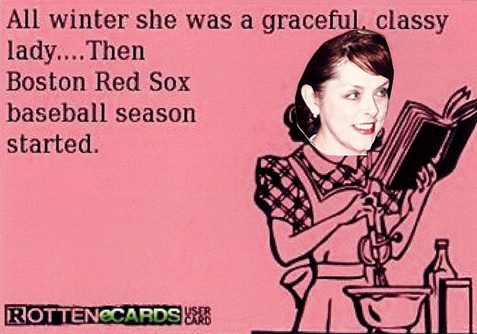 This is so me! #1 Boston Red Sox Fan!