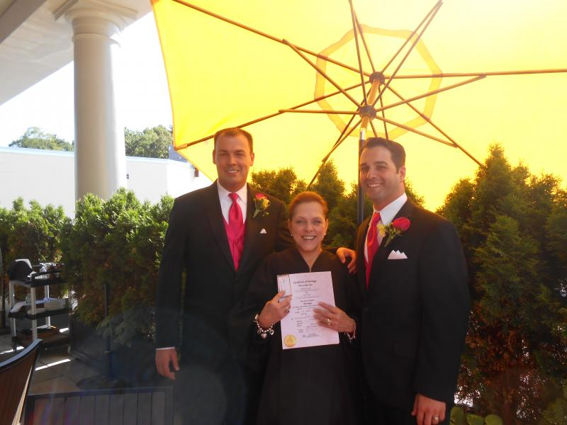 Wedding of Jason and Michael, L'Andana, Burlington, MA
